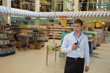 Охрана магазинов