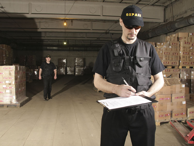 Охрана склада