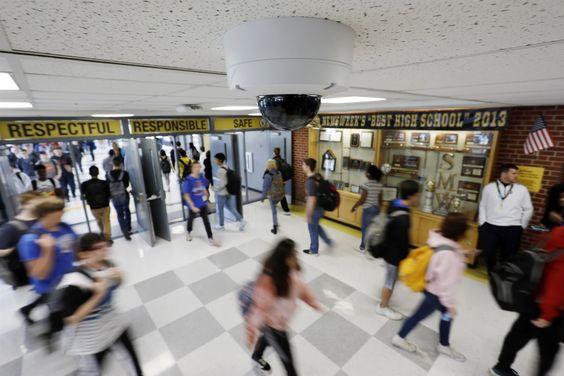 Электронное охранное оборудование для школ