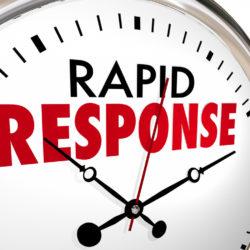 Rapid response service